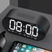 2018新款LEnRuE藍悅P6鏡面鬧鐘藍牙音箱家用辦公U盤插卡手機音響