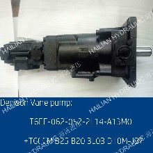 DenisonHydpumpsT6EE052052丹尼逊三联液压泵船?#23433;?#30422;油泵图片
