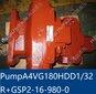 船舶倉蓋液壓泵TsujiA4VG180HDDI/32R+GSP2吊機油泵液壓泵原裝圖片