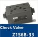 疊加式單向閥CheckValveZ1S6B-33
