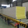宝润达聚氨酯封边岩棉板、岩棉板、聚氨酯封边厂家