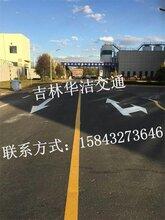 龙井道路划线
