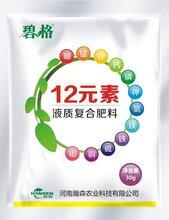 果蔬需要的多种元素复配易吸收增产12元素叶面肥图片