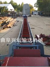 鏈板機供應紙箱裝車鏈板輸送機六九重工鏈板輸送機的故障排圖片