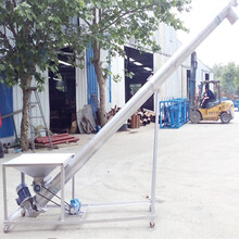 上料絞龍谷子絞龍提升機六九重工垂直螺旋輸送機圖片
