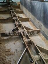 單板鏈刮板多點卸料刮板機六九重工自清式刮板輸送機圖片