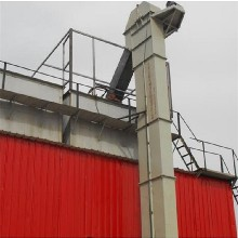 河南驻马店砂石瓦斗垂直提升机CAD图纸图片