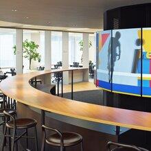 创意办公室设计之色彩搭配技巧办公室设计案例名设网设计