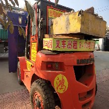 潍坊出租叉车3-10吨升高4.5米昼夜服务叉车租赁图片