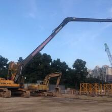 深圳14米加长臂挖机出租图片