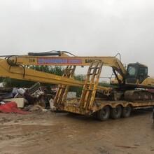 阳江27米加长臂挖机租赁图片