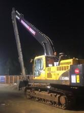 东坑镇加长臂挖机租赁公司图片