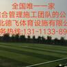 双鸭山塑胶跑道草坪施工<包检测无味>德飞体育