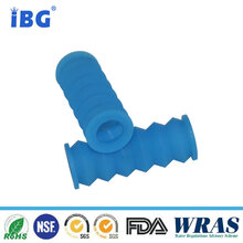 厂家直销橡胶定制件/丁腈硅胶等/橘色蓝色801C波纹管可定制