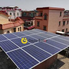 佛山光伏电站户用光伏发电系统西樵陈先生5.5KW每月0电费多重发电补贴
