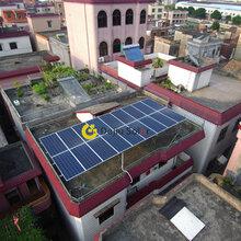 佛山光伏电站户用屋顶光伏发电大沥郭先生5.5KW每月0电费多重发电补贴