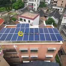 佛山光伏电站户用光伏发电系统大沥雅瑶林太太8.37KW每月0电费多重发电补贴