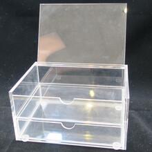 有机玻璃饰品收纳盒供应-粤丰展示-专业定制图片
