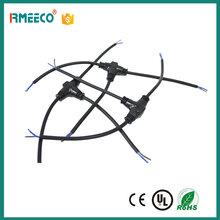 T型三通防水連接線可定制工程接頭延長線并聯串聯防水電線連接器