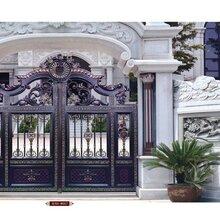 别墅庭院大门护栏,亚坤铝合金大门护栏,亚坤全铝家居