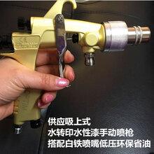 空气喷枪水性漆手动喷枪搭配低压环保省油白铁喷嘴