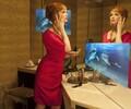 重庆镜显玻璃,镜面广告机,成像清晰,视觉体验好