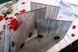 夹丝玻璃隔断屏风,安全玻璃,选河南郑州誉华夹丝玻璃厂