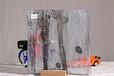 夹丝玻璃屏风隔断艺术玻璃夹娟拉丝玻璃,河南郑州誉华玻璃厂家