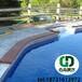 游泳池膠膜鋪裝老舊游泳池改造兒童戲水池安裝泳池膠膜