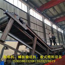 铝土矿板喂机矿石链板输送机板式喂料机焦炭石块鳞板输送机