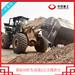 水泥攪拌斗安裝在裝載機上移動方便云浮攪拌鏟車效果