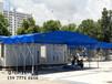 湖北定做夜宵大排檔帳篷大型倉庫雨棚收縮停車棚移動燒烤帳篷