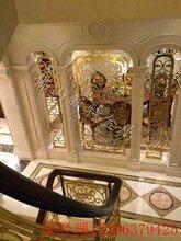 温州装饰屏风铝板工艺雕花屏风��身�抖隔断图片