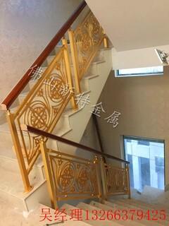 岳阳小区庭院铝艺护栏铝雕花护栏镜面K金优质订做图片6