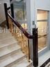 铜板香槟金旋转楼梯护栏搭配时尚设计更胜一筹