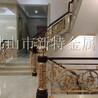 铝合金扶手定制花纹铝艺楼梯护栏