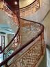铜艺雕刻楼梯护栏
