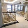 多色的铝艺楼梯护栏