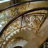 铜艺旋转楼梯护栏