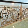 铝板雕刻艺术雕花楼梯护栏简单大气而不复杂