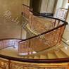 铜艺浮雕楼梯护栏