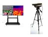 東莞望牛墩HY-800紅外線測溫安檢門,測手腕,測額頭廠家
