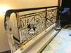 福州订做金色铜楼梯护栏时尚艺术雕花扶梯栏杆价格