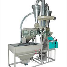 磨坊家用小麦面粉加工设备全自动对辊式专业小麦面粉机