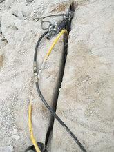 快速分裂巖石用什么設備巖石劈裂機--圖片