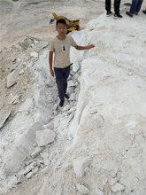 大理石矿山开采用什么设备好--操作难度低图片