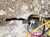 北京房山機載劈裂機替代破碎錘開采巖石設備