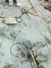 云南文山挖机带动式岩石破石机—可以取代放炮
