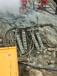 礦山開采可以代替放炮破石頭的機器劈裂機設備湖南岳陽可提供現場