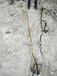 福州岩石开采机器岩石劈裂机劈裂棒